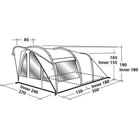 Easy Camp Hurricane 300 Namiot szary